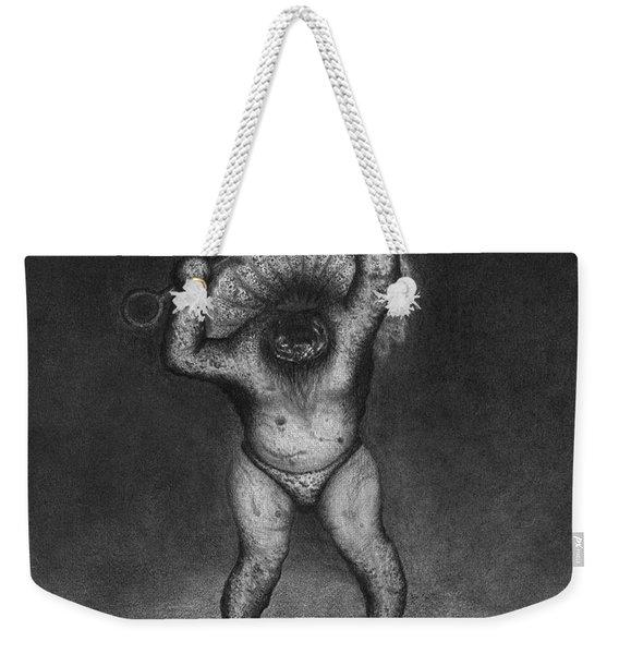Nightmare Rattler - Artwork Weekender Tote Bag