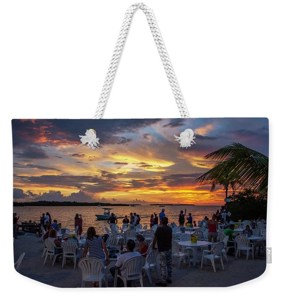 Only In The Florida Keys  Weekender Tote Bag