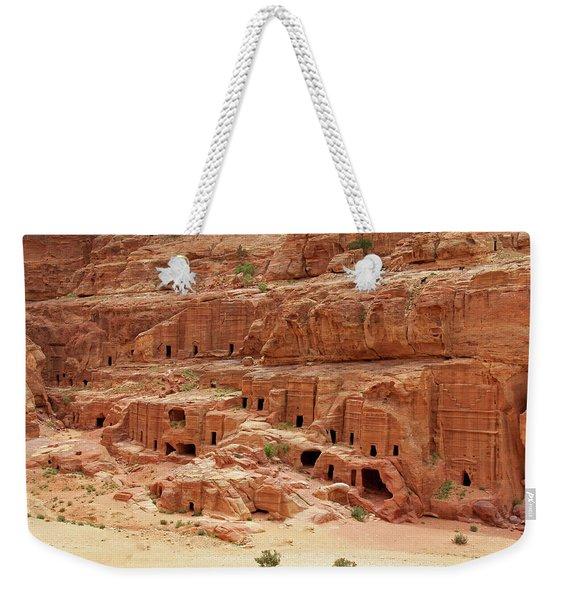 Petra, Jordan - Cave Dwellings Weekender Tote Bag