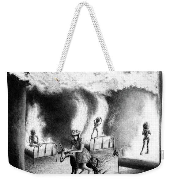 Philippa The Crackling Rider - Artwork Weekender Tote Bag
