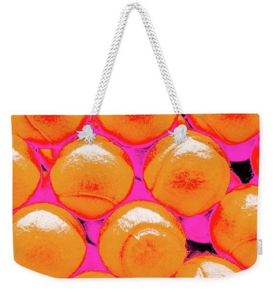 Pop Art Tennis Balls Weekender Tote Bag