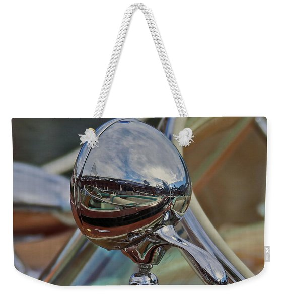 Riva Chrome Weekender Tote Bag