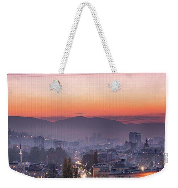 Sarajevo Weekender Tote Bag