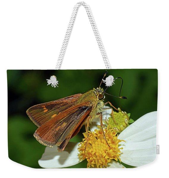 Skipper Butterfly Weekender Tote Bag