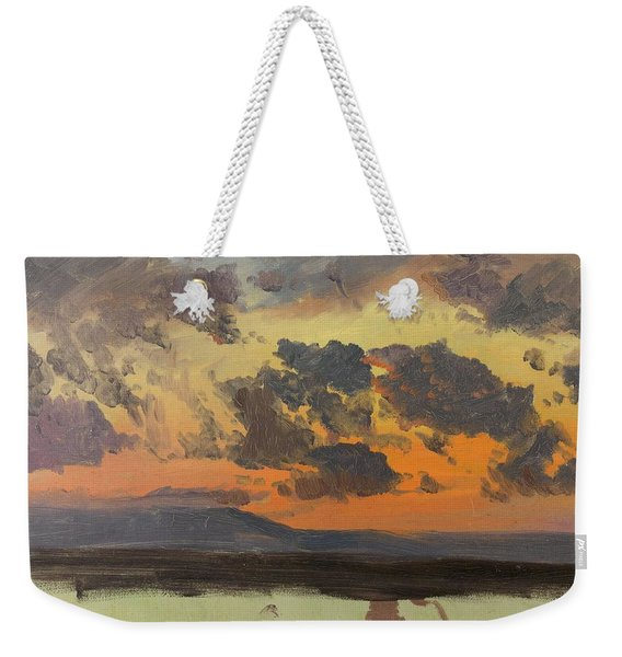 Sky At Sunset, Jamaica, West Indies Weekender Tote Bag