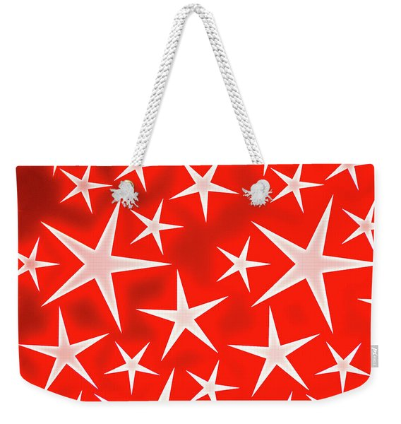 Star Burst 3 Weekender Tote Bag