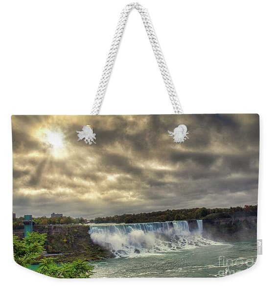 The American Falls Weekender Tote Bag