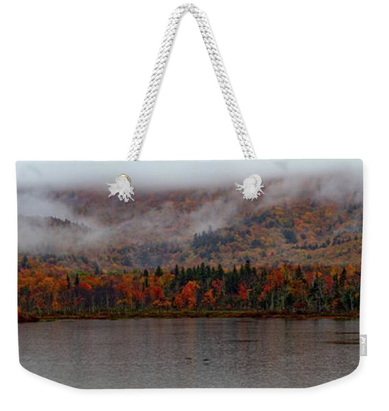 Weekender Tote Bag featuring the photograph The Basin In Maine by Jeff Folger