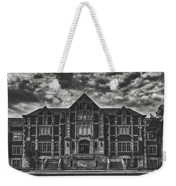 The Fine Arts Building - Ball State University Weekender Tote Bag