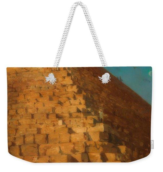 The Great Pyramid, Giza Weekender Tote Bag