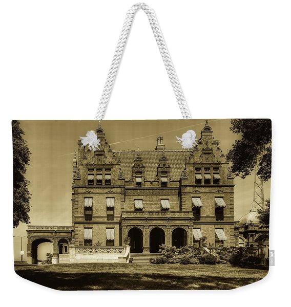 The Historic Pabst Mansion Weekender Tote Bag