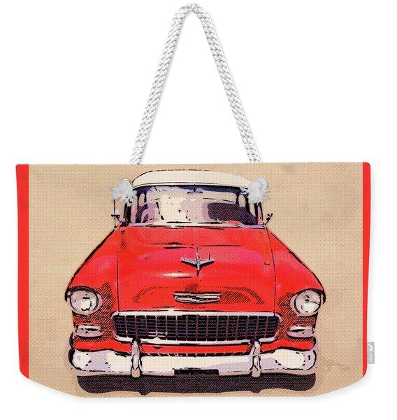 2 Tone 55 Weekender Tote Bag