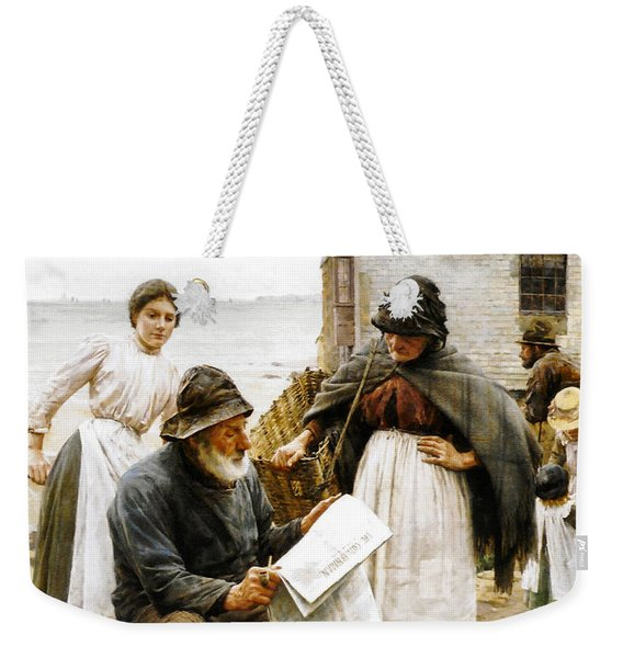 When The Boats Are Away Weekender Tote Bag