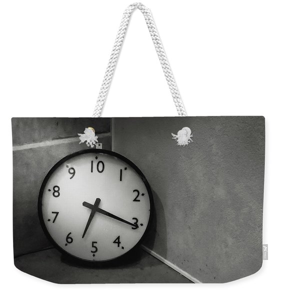 Weekender Tote Bag featuring the photograph 20 Hours Day by Juan Contreras