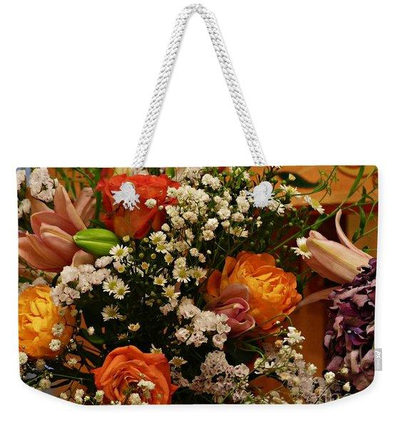 2019 Holy Week Flowers 1   Weekender Tote Bag