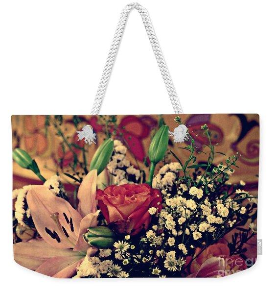2019 Holy Week Flowers 2    Weekender Tote Bag