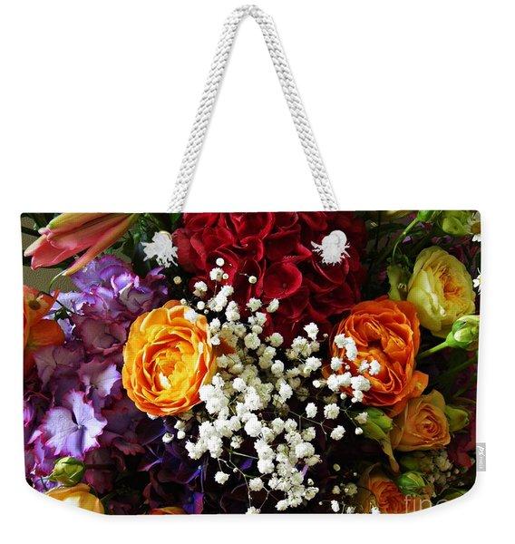 2019 Holy Week Flowers 3       Weekender Tote Bag