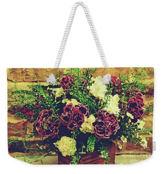 2019 Holy Week Flowers 4      Weekender Tote Bag