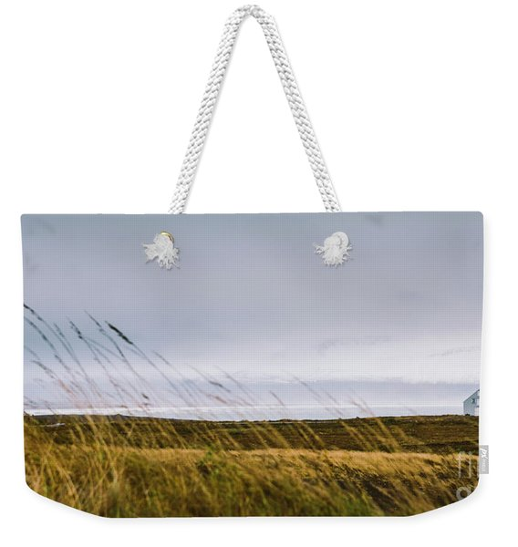 Beautiful Panoramic Photos Of Icelandic Landscapes That Transmit Beauty And Tranquility. Weekender Tote Bag