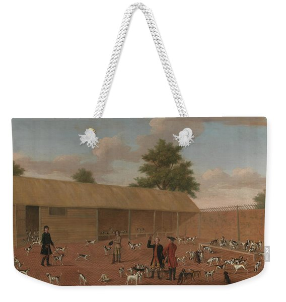 Learning About The Hounds Weekender Tote Bag