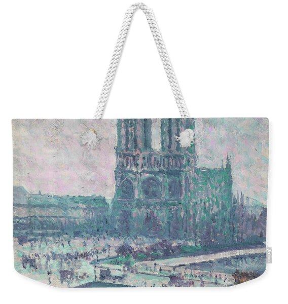 Notre-dame De Paris Weekender Tote Bag