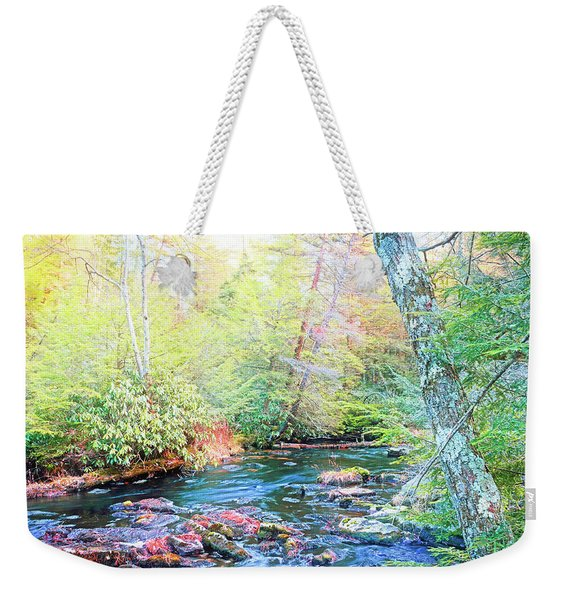 Pocono Mountain Stream, Pennsylvania Weekender Tote Bag