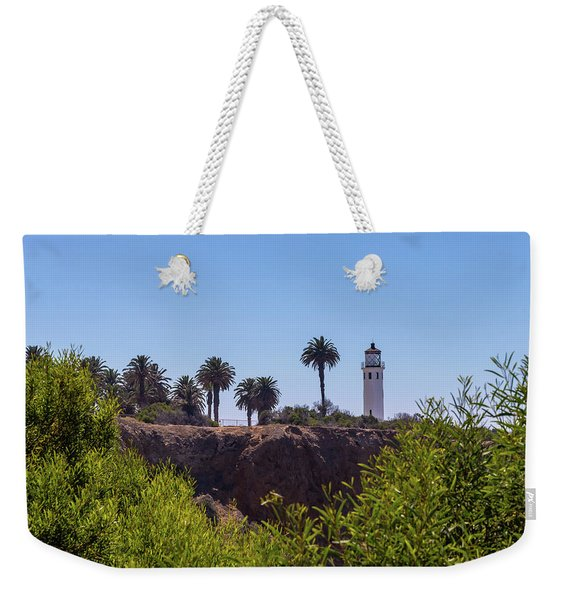 Point Vicente Lighthouse Weekender Tote Bag