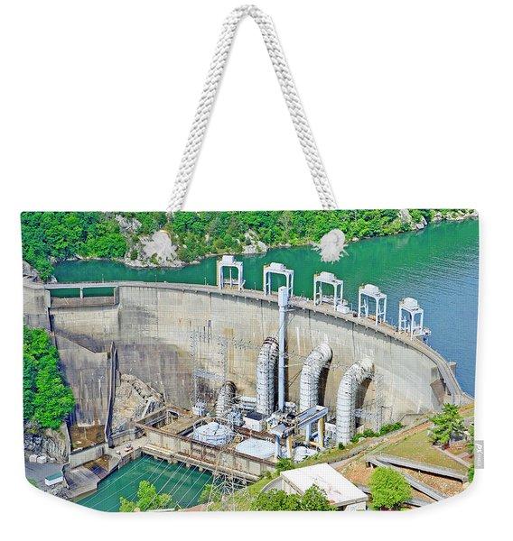 Smith Mountain Lake Dam Weekender Tote Bag