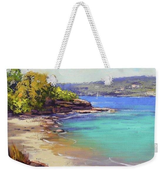 Sydney Harbour Beach Weekender Tote Bag