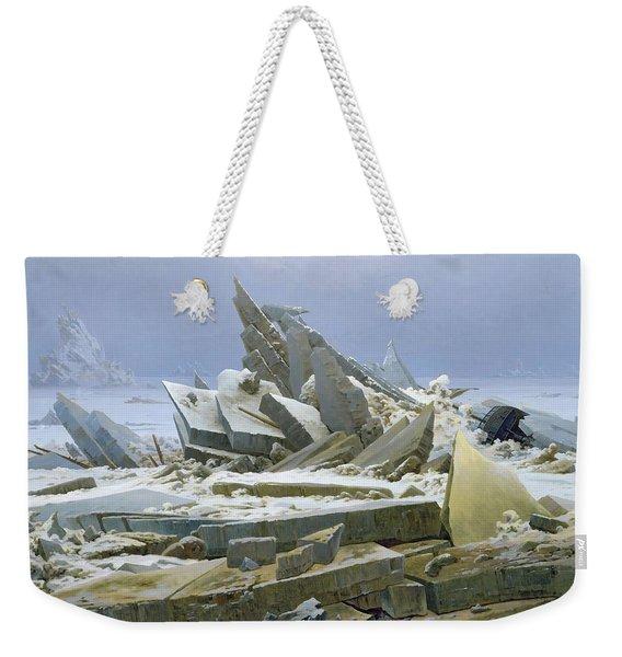 The Polar Sea Weekender Tote Bag