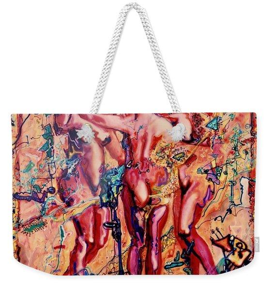 3 Virgins - Rubens, Airbrush 1990 Weekender Tote Bag