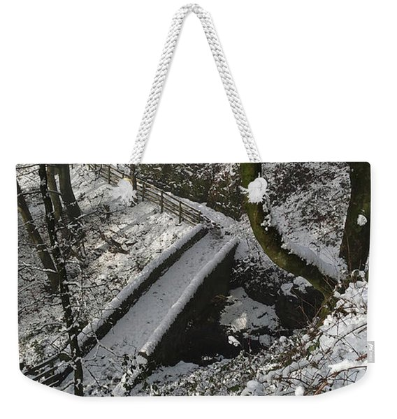 30/01/19  Rivington. Cascade Bridge. Weekender Tote Bag
