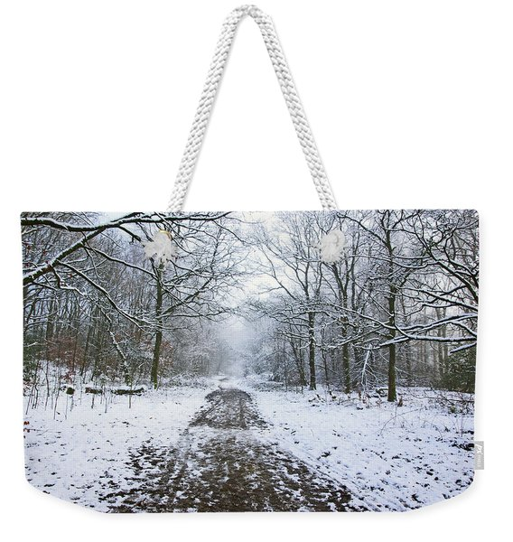 30/01/19  Rivington. Lower Barn. Arboretum Path. Weekender Tote Bag