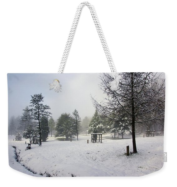 30/01/19  Rivington. Memorial Arboretum. Weekender Tote Bag