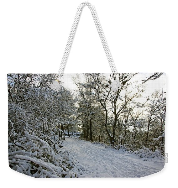 30/01/19  Rivington. Top Path Below The Pigeon Tower. Weekender Tote Bag