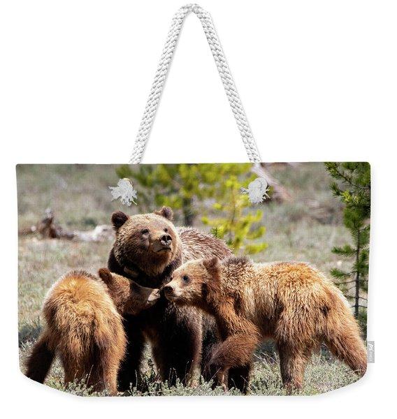 399 And Cubs Weekender Tote Bag