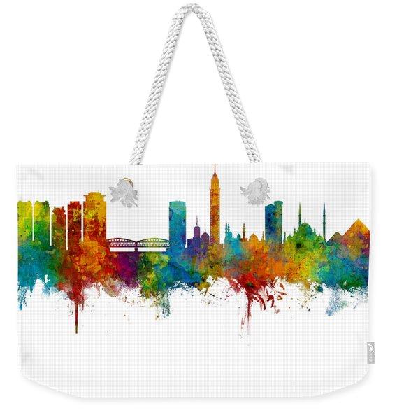 Cairo Egypt Skyline Weekender Tote Bag