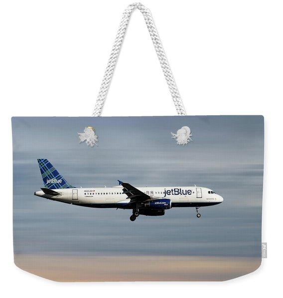 Jetblue Airways Airbus A320-232 Weekender Tote Bag