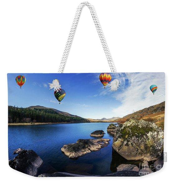 Llynnau Mymbyr Weekender Tote Bag