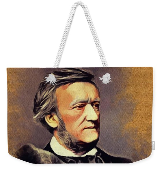 Richard Wagner, Famous Composer Weekender Tote Bag