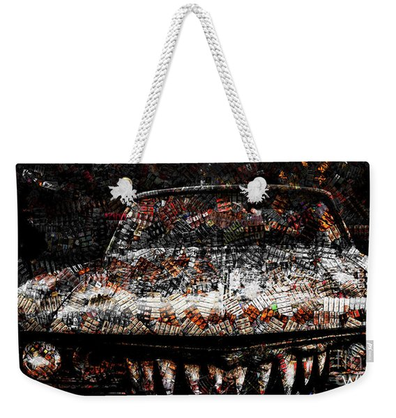 40 Years And Mean Teeth Weekender Tote Bag