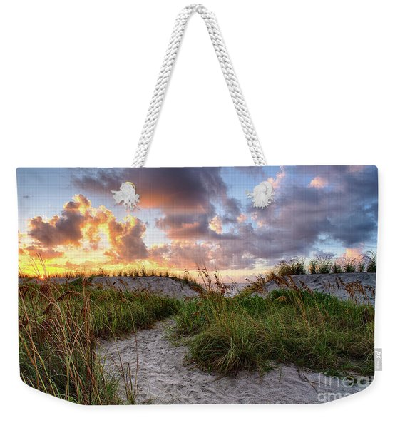 48th Ave. Sunrise North Myrtle Beach Weekender Tote Bag