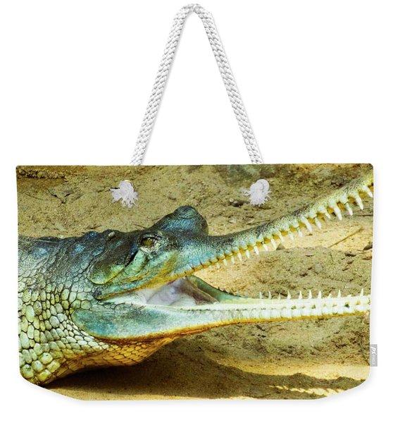 Saw Teeth Weekender Tote Bag