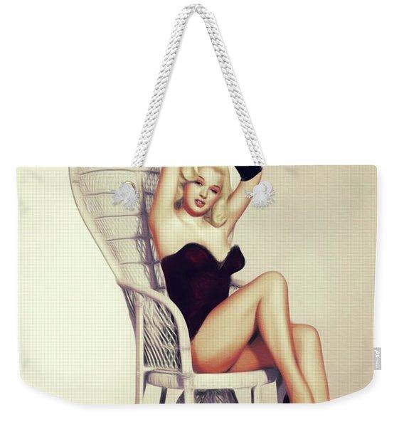 Diana Dors, Vintage Movie Star Weekender Tote Bag