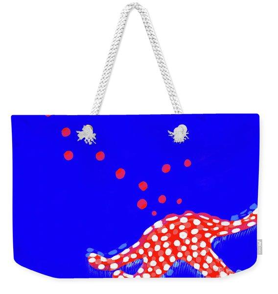 Fishy Fishy, 2019, Mixed Media Weekender Tote Bag