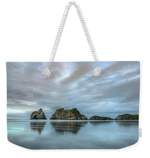 Wharariki Beach - New Zealand Weekender Tote Bag