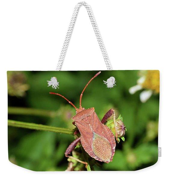 Leaf Footed Bug Weekender Tote Bag