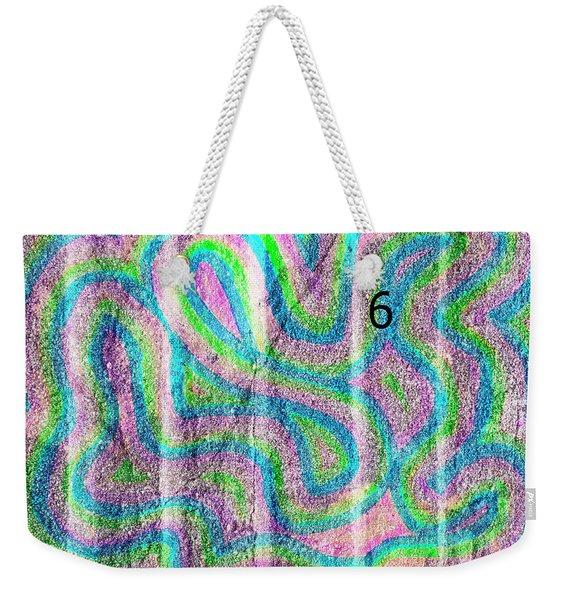 #6 Sidewalk Weekender Tote Bag
