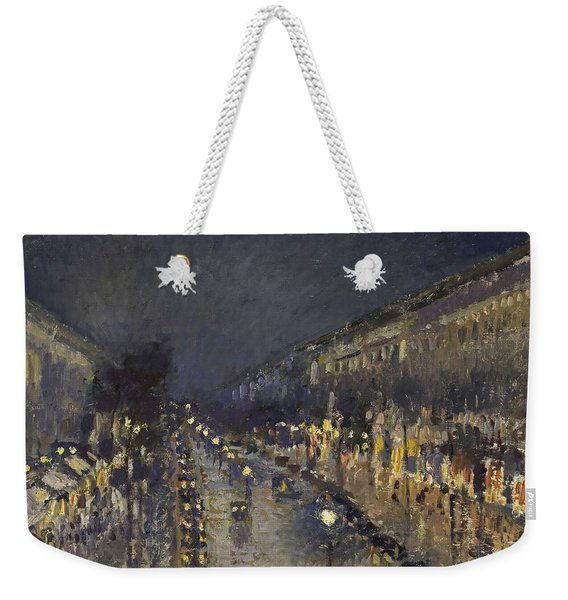 The Boulevard Montmartre At Night Weekender Tote Bag