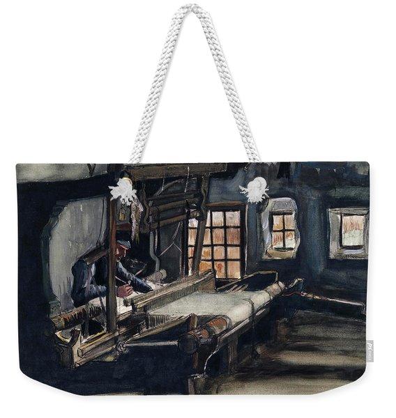 Weaver Weekender Tote Bag